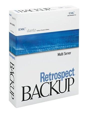 Dantz MU10A007000 Retrospect 7 Multi Server with CD & Manual Win