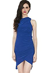 Divaat Drape The Blues Dress