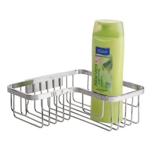 interdesign-easy-lock-pro-stainless-steel-bathroom-corner-shower-basket-for-shampoo-conditioner-soap