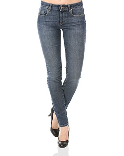 Seven7 LA Jeans High Rise Skinny Blu W27L31