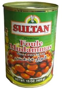 Foul Mudammas, Fava Beans (Sultan) 15.5oz