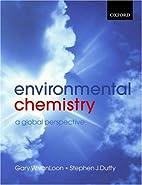Environmental Chemistry by vanLoon