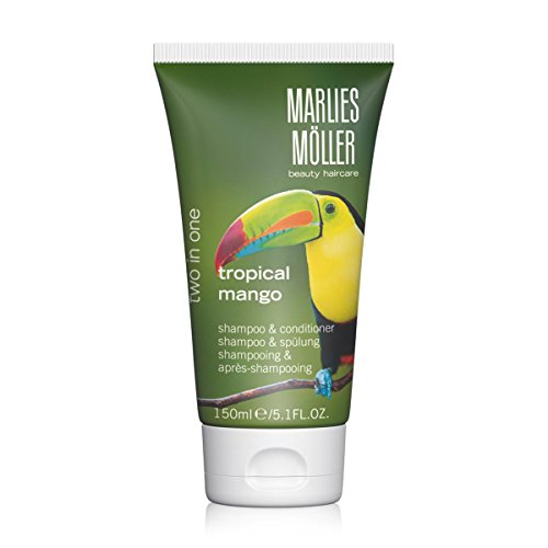 Marlies Möller Beauty Haircare: 2 in1 Shampoo Tropical Mango & Spülung (150 ml)