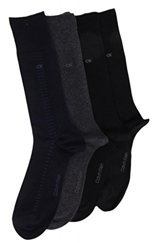 Calvin Klein Mens  Cotton Dress Socks Asst One Size