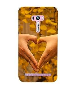 Vizagbeats Love Shape Back Case Cover for Asus Zenfone Selfie::Asus Zenfone Selfie ZD551KL