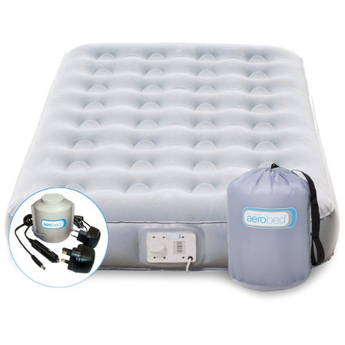 Best Buy! The Original Sleep In Style AEROBED Air Matress With INFLATOR – 9″ High ~ TWIN