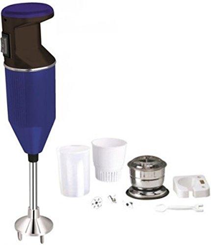 CELLO POWER X PLUS ABS 350 Watts Hand Blender Cum Chopper (34x6x7 Cms, Blue & Black)