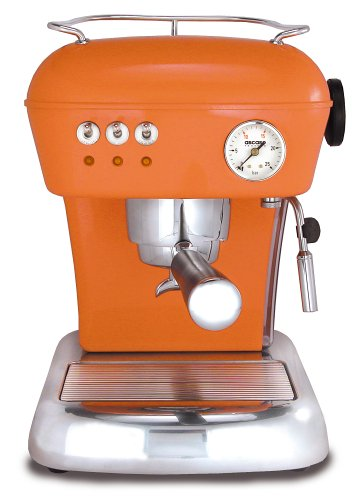 Ascaso DR.116 Dream 16-Bar-Pump Espresso Machine, Mandarin Orange