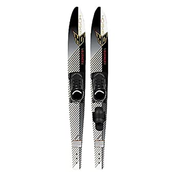 HO Sports Burner Pro Combo Water Skis With Bindings 2013: