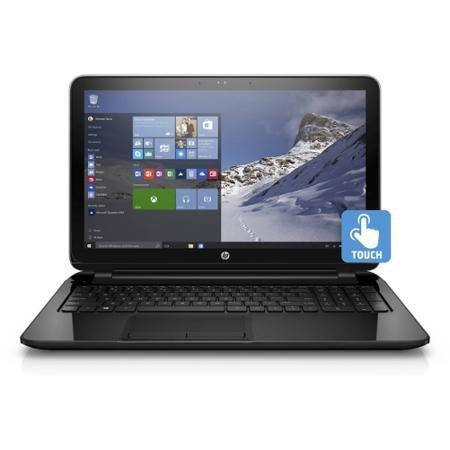 HP 15-F211WM 15.6-Inch Touchscreen Laptop (Dual Core 4GB 500GB DVD-RW, Windows 10)