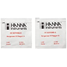 Hanna Instruments HI 93709-01 Reagents for Manganese HR and Periodate Method (100 Test)