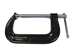 Bessey CM50 5-Inch x 3-1/4-Inch Malleable C Clamp