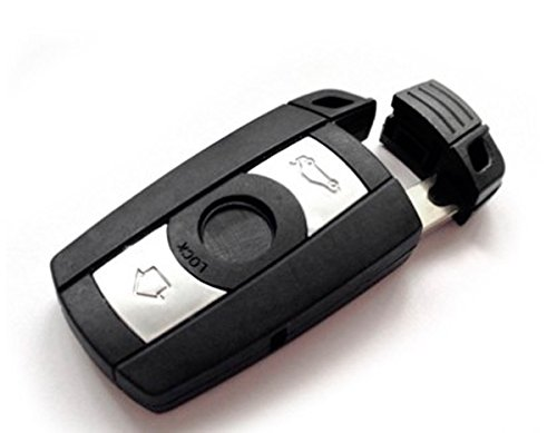 For Bmw Smart Key Shell Remote Fob Case Uncut Blade/ E60 5 Series 520 530 525 Etc