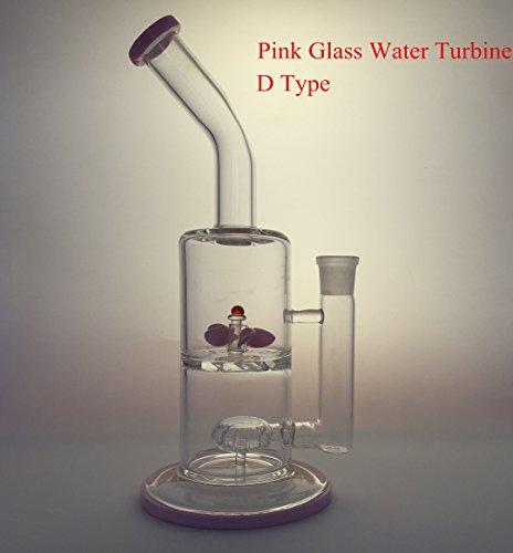 Glass-Water-Turbine-Whirlpool-Pipe-18mm-Female-Joint-Showerhead