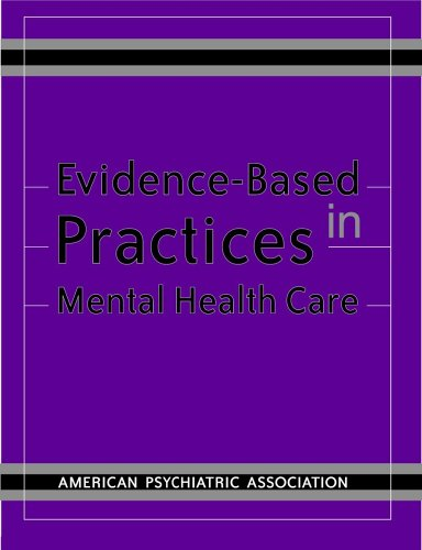 Buy Evidence-Based Practices in Mental Health Care089042554X Filter