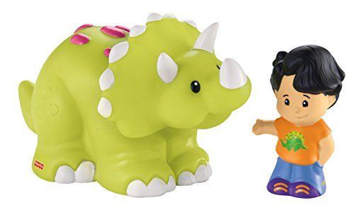 Fisher-Price Little People Koby and Triceratops - 1