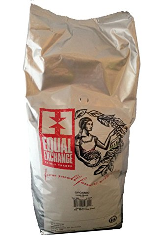 Equal Exchange Usda Organic Love Buzz Whole Bean Coffee- 5 Lb Bag