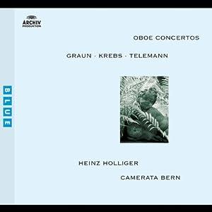 Graun, Krebs, Telemann: Oboe Concertos