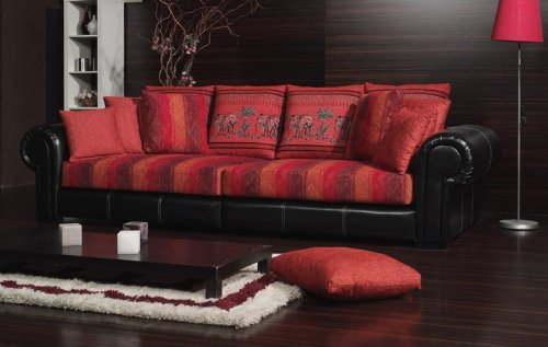 die besten wohnzimmer pc kolonialsofa india in beige oder rot. Black Bedroom Furniture Sets. Home Design Ideas