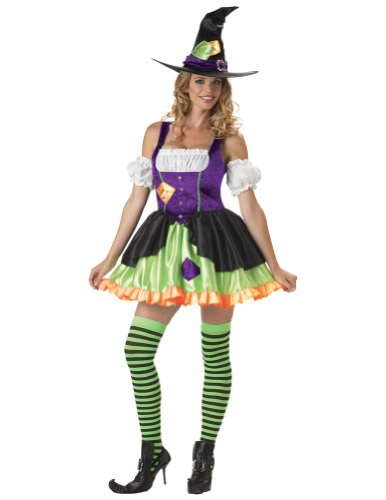 Witchful Thinking Adult Sm Halloween Costume - Adult Small
