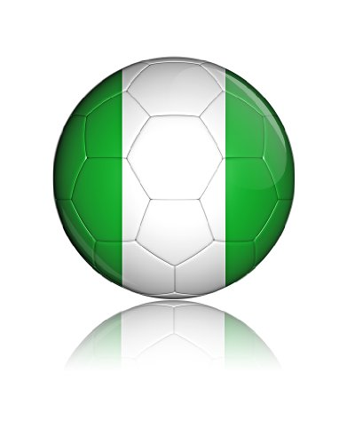 Road To World Cup Nigeria Flag Badge Gift Present Baby Shower Birthday front-905400
