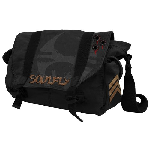 Soulfly - Messenger Bag - Black - 40 x 29 x 14