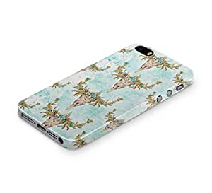 Cover Affair Floral / Flower Printed Back Cover Case for Apple iPhone 4