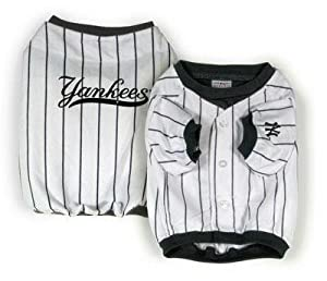 Sporty K9 Design No2 York Yankees Baseball Dog Jersey X-small by Sporty K9, Ltd.