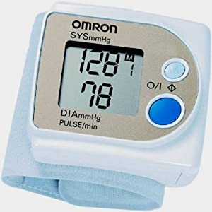 Omron R3 Health & Fitness Test Equipment Wrist Heart Rate/Blood Pressure Meter