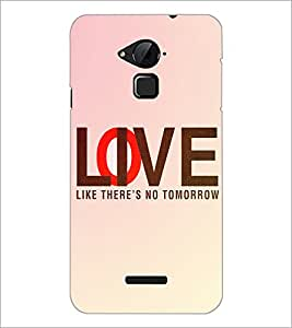 PrintDhaba Quote D-3919 Back Case Cover for COOLPAD NOTE 3 LITE (Multi-Coloured)