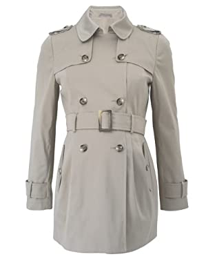 Maternity Mac with Belt Detail