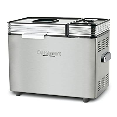 Cuisinart Stainless Steel Countertop Bread Maker - Model: CBK-200 - 2 Pack Gift Bundle by Cuisinart