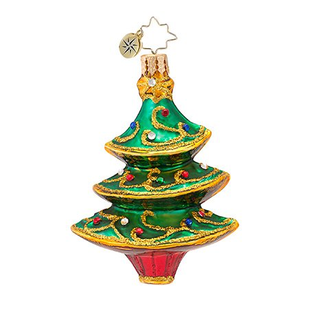 Christopher Radko Filigree Fir Ornament