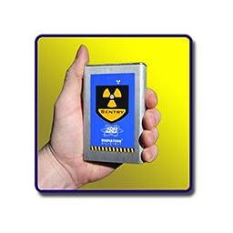 Radiation Alert SENTRYEC Sentry EC/Dosimeter and Ratemeter, Silver