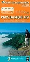 Pays basque Est : 1/50000