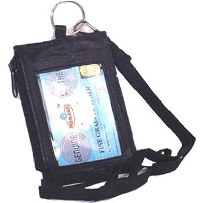 Marshal #761 Leather ID Holder BLACK