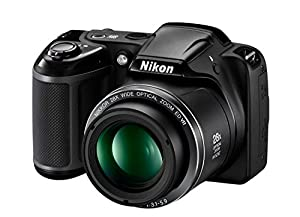 Nikon COOLPIX L340 Digital Camera (Black) [Import Model]