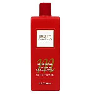(2 bottles) Umberto Beverly Hills Moisturizing Conditioner 12 fl oz each