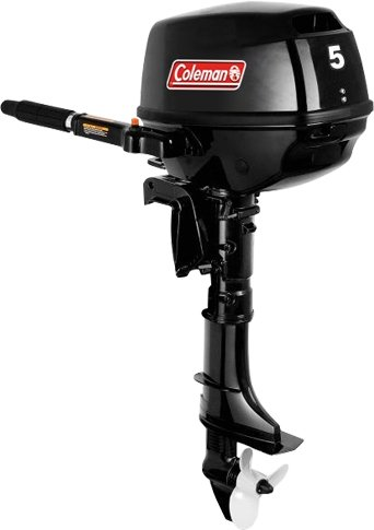 cheap coleman 5hp outboard motor short shaft