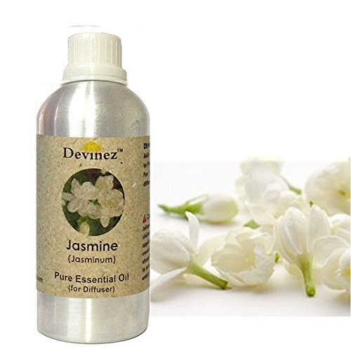 Devinez Jasmine Essential Oil For Electric Diffusers/ Tealight Diffusers/ Reed Diffusers, 500ml