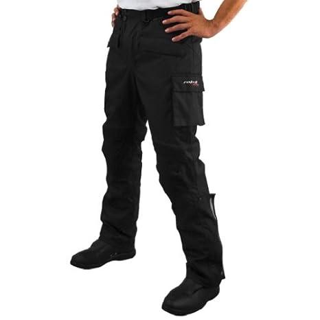 Roleff Racewear 4503 Pantalon Moto Textile, Noir, M