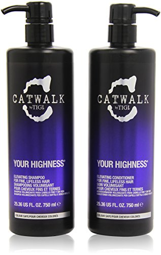 Your Highness by TIGI Catwalk Your Highness Tween Set Salon Size Shampoo 750ml and Conditioner 750ml by TIGI