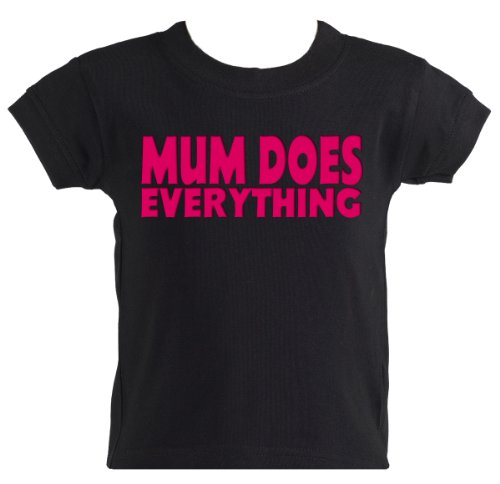 Mum Does Everything Cool Baby Tee Shirt Clothing Baby Clothes sizes 0-6 months
