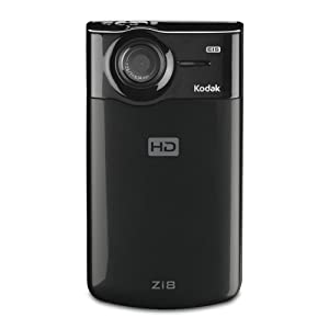 Kodak Zi8 Pocket Video Camera - Black