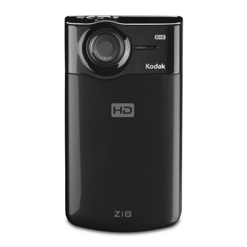 Kodak Zi8 1080p Pocket HD Camcorder (Black)