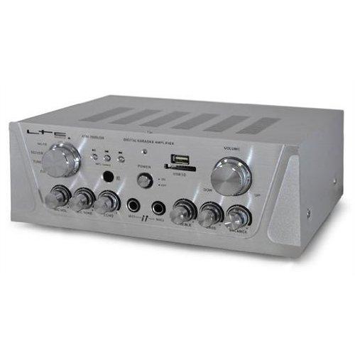 LTC DJ PA Hi-Fi Karaoke Stereo Amplifier USB SD MP3 System