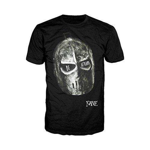 WWE Kane temere licenza ufficiale da uomo T-Shirt (Nero) Black XX-Large