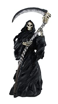 `Dark Harvest` Grim Reaper and Scyth Statue