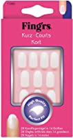 Fing'rs - 1200X4 - Faux Ongles - 28 Ongles Courts Naturels à Coller