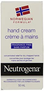 Neutrogena Norwegian Formula Fragrance Free Hand Cream, 50ml